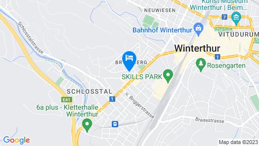 ibis budget Winterthur Map