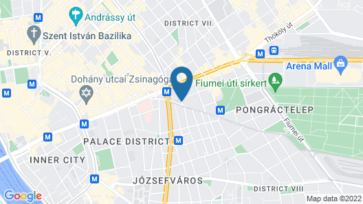 Atrium Fashion Hotel Map
