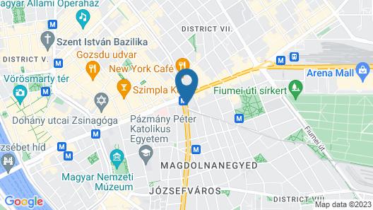 Hotel Nemzeti Budapest – MGallery Map