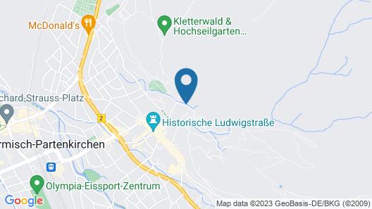 Landhaus Pitzner Map