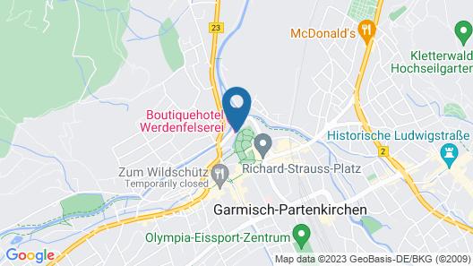 Werdenfelserei Map