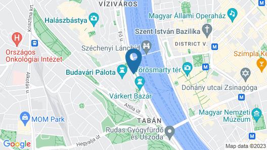 Lanchid 19 Design Hotel Map
