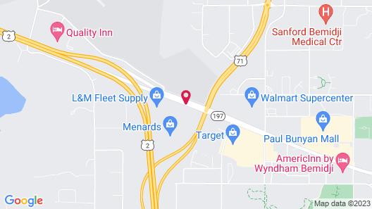 Best Western Bemidji Map