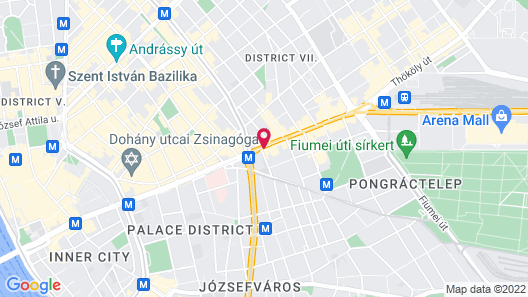 Novotel Budapest Centrum Map