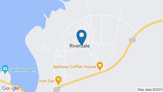Riverdale Inn Map