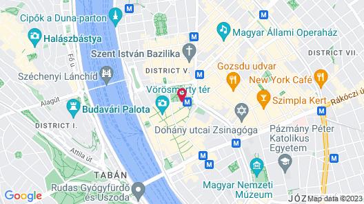 The Ritz-Carlton, Budapest Map