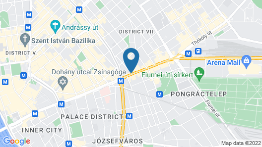 NH Collection Budapest City Center Map