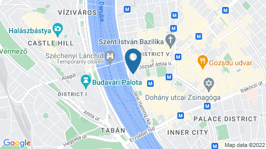 InterContinental Budapest, an IHG Hotel Map