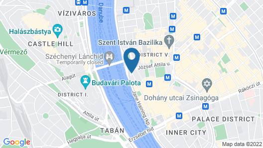 InterContinental Budapest Map