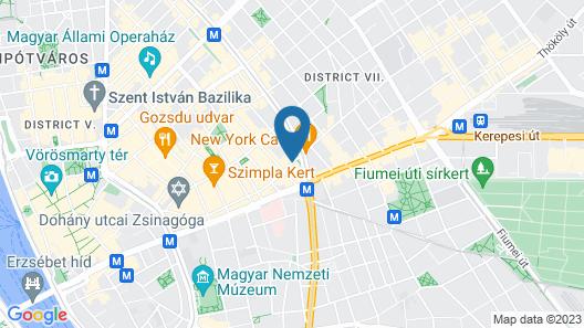 Soho Boutique Hotel Map