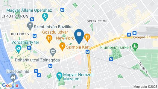 Nova Apartments Map