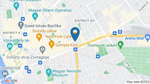 Anantara New York Palace Budapest Map