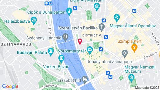 Sofitel Budapest Chain Bridge Map