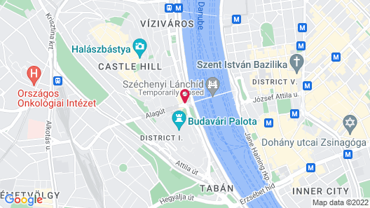 Hotel Clark Budapest- Adults Only Map