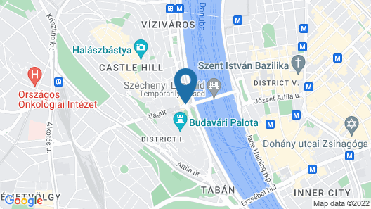Hotel Clark Budapest - Adults Only Map
