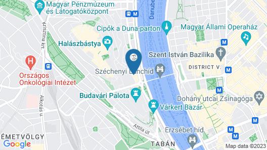 Exe Carlton Budapest Map