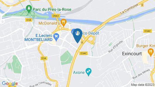Hôtel Relais Vert Map