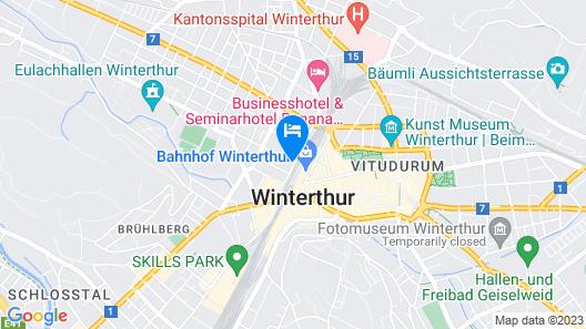 Hotel Wartmann am Bahnhof Map