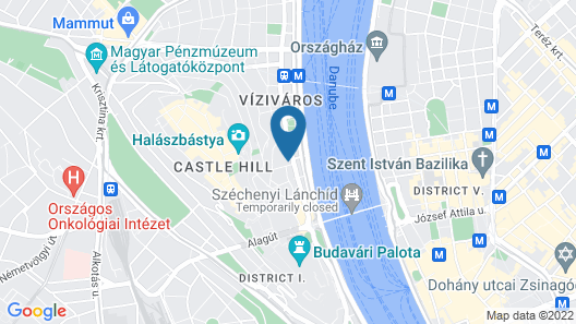 Monastery Boutique Hotel Budapest Map