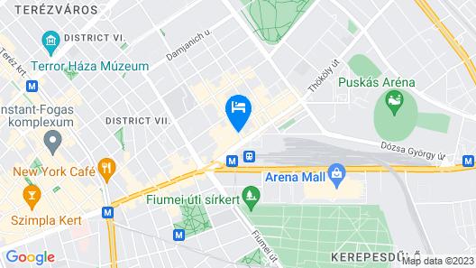 Royal Park Boutique Hotel Map