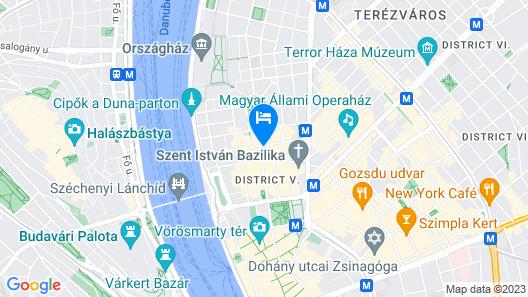 H2 Hotel Budapest Map