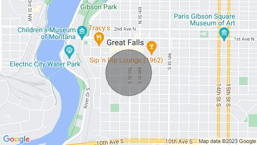 Beautiful downtown loft apartment  Map