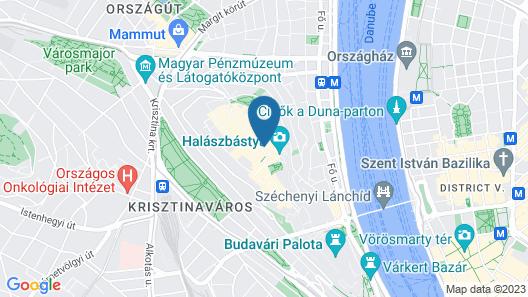 Hilton Budapest Map