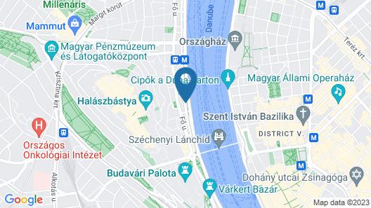 art'otel budapest, by Park Plaza Map