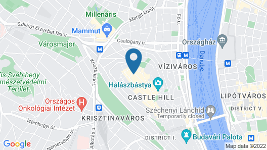 Hapimag Resort Budapest Map