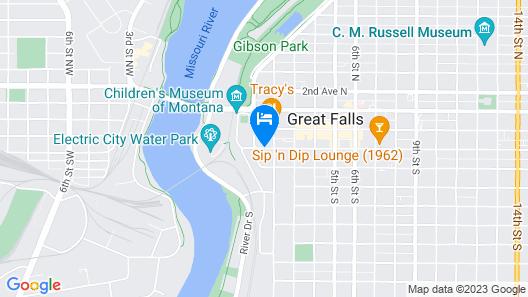 Hotel Arvon Map
