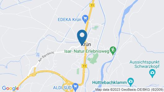 Gästehaus Berghof Map