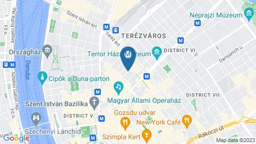 City Gardens Apartments Map