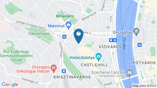 Hotel Castle Garden Map