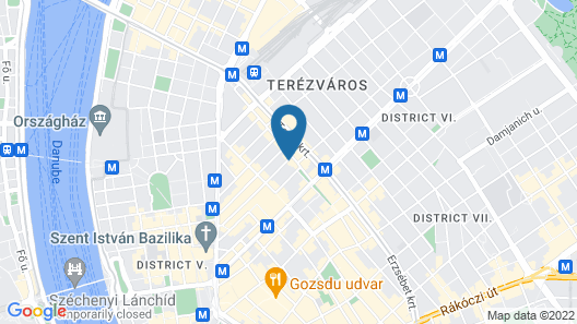 Bliss Hotel And Wellness Map