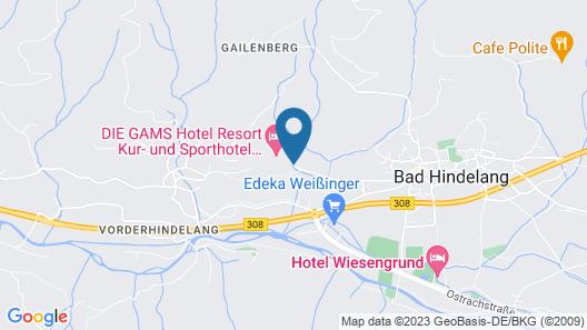 DIE GAMS Hotel-Resort Map