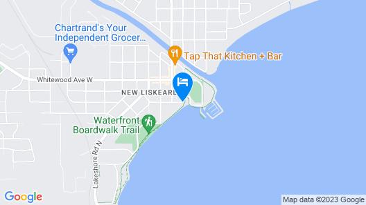 Waterfront Inn Map