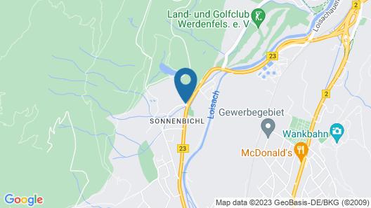 Grand Hotel Sonnenbichl Map