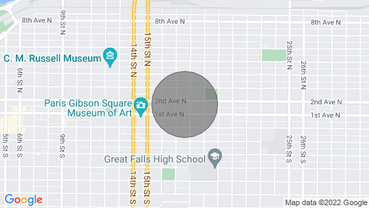 Pet-friendly Great Falls Home: Walk to Downtown! Map
