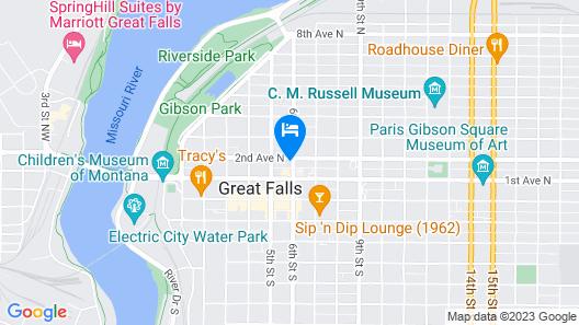 Midtown Motel Map