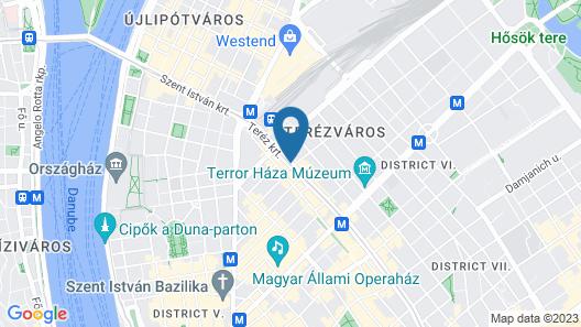 Radisson Blu Beke Hotel, Budapest Map