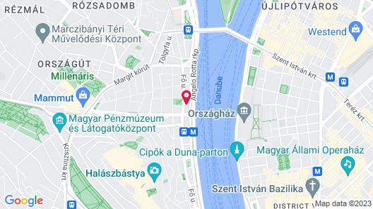 Novotel Budapest Danube Map