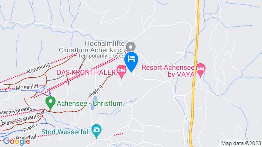 Hotel Zillertaler Hof Map