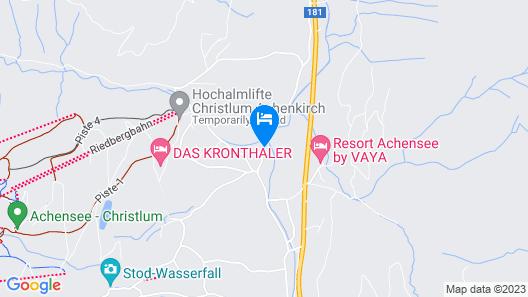 Resort Achensee Map