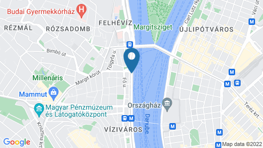 OnRiver Hotels  - MS Cezanne Map