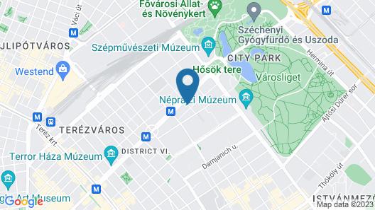 Mamaison Hotel Andrassy Budapest Map
