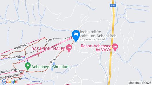 Achentalerhof Map
