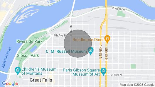 Great Falls Get Away Map