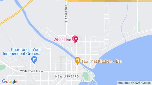 Wheel Inn Motel Map