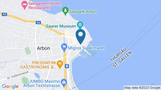 Hotel Rotes Kreuz Map
