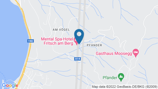 MentalSpa - Hotel Fritsch am Berg - Adults only Map
